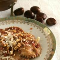 Tortelli di zucca dolceforti e noci
