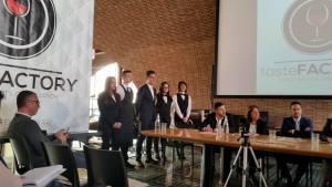 Conferenza stampa Solstizio d'Estate ragazzi alberghiero