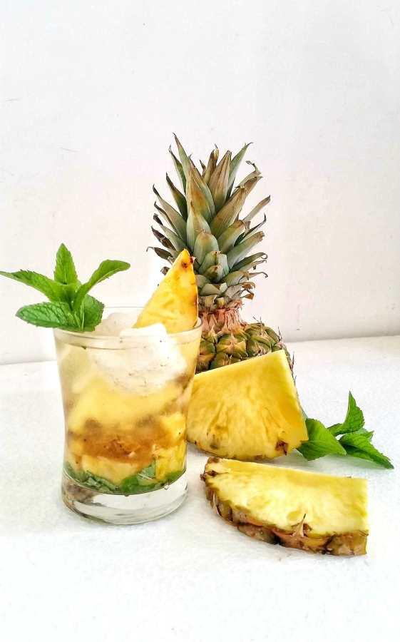 Spritz menta-ananas