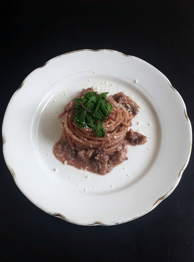 Spaghetti con Riduzione al Chianti_1