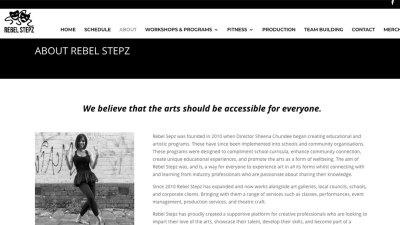 Rebel Stepz | Nat Rowe