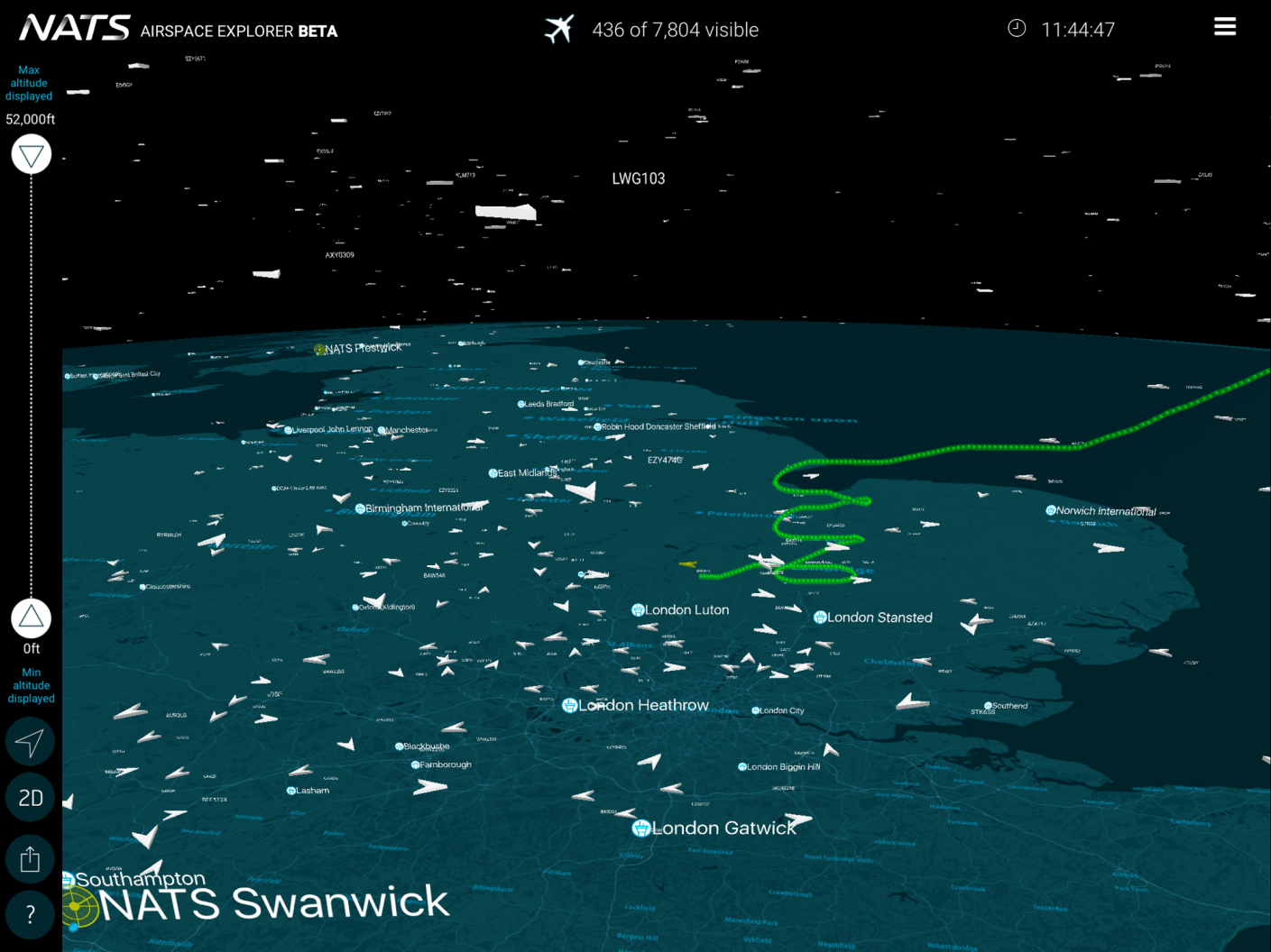 UK air traffic control provider launches flight tracking app - NATS