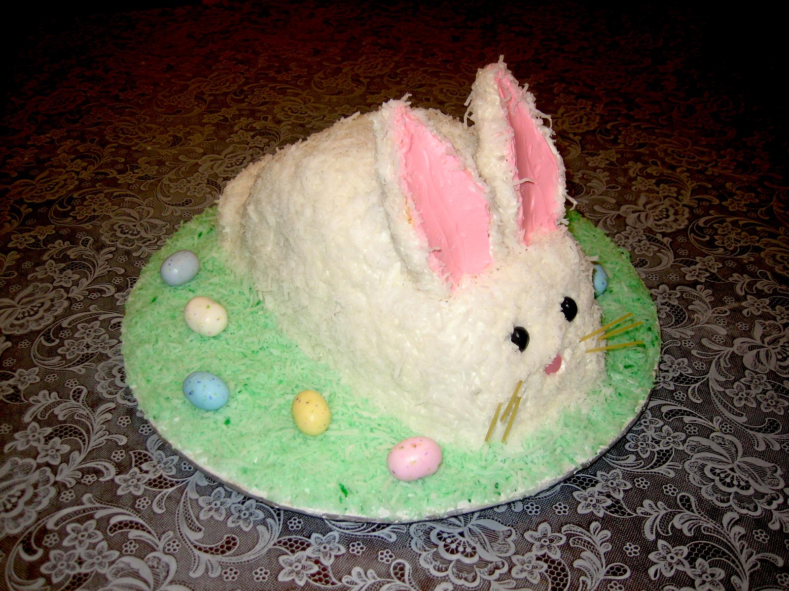 Strange My 1St Easter Bunny Cake Nats Corner Birthday Cards Printable Riciscafe Filternl