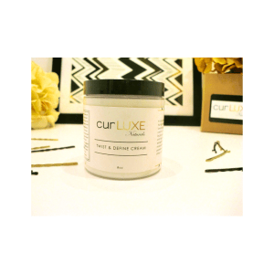 "CURLUXE NATURALS-Activateur de Boucles ""Twist & Define Cream ""8oz/240ml"