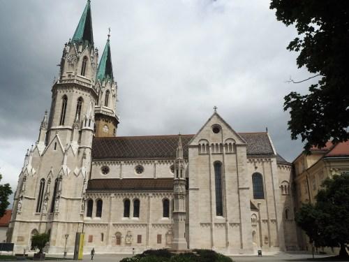 Kirken til Kloster Neuburg.