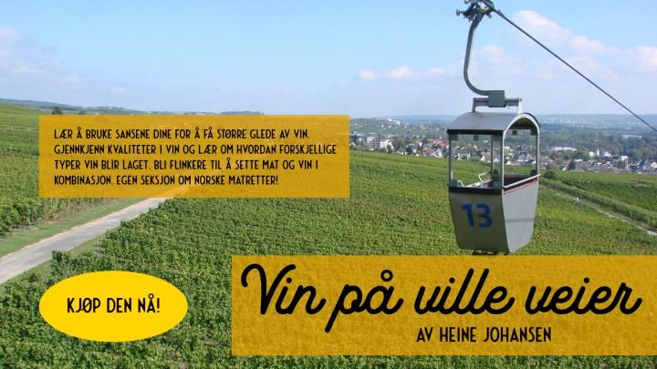 """Kjøp vinboken """"Vin på ville veier"""""""