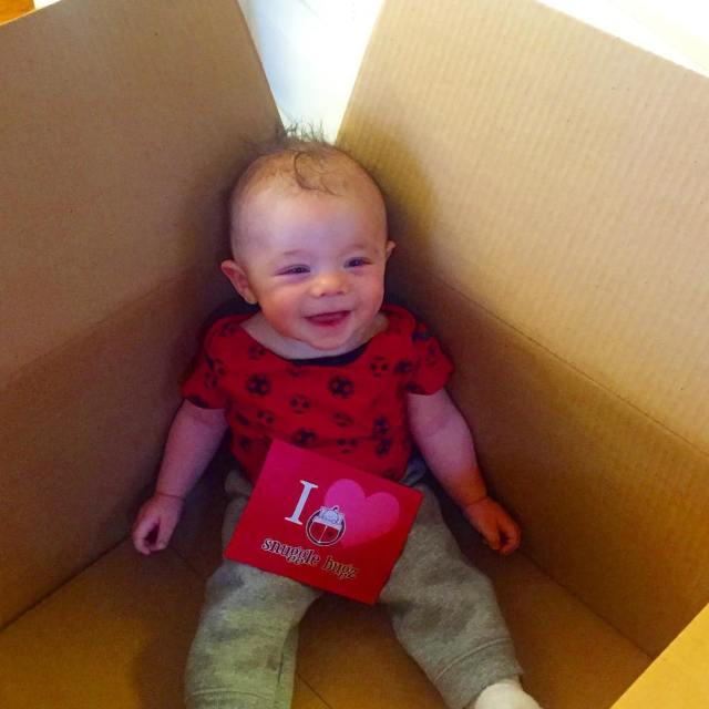 This perfect package arrived today announcing the partnership between snugglebugzbabyhellip