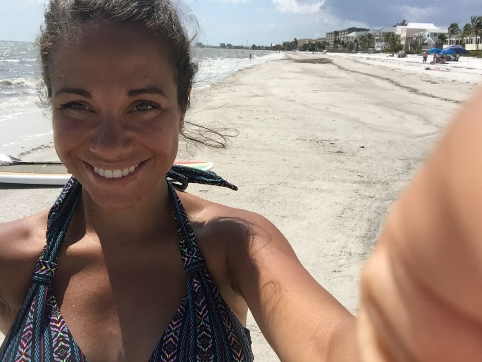 Born To Beach: The Beaches of Fort Myers & Sanibel - Selfie on Fort Myers Beach North