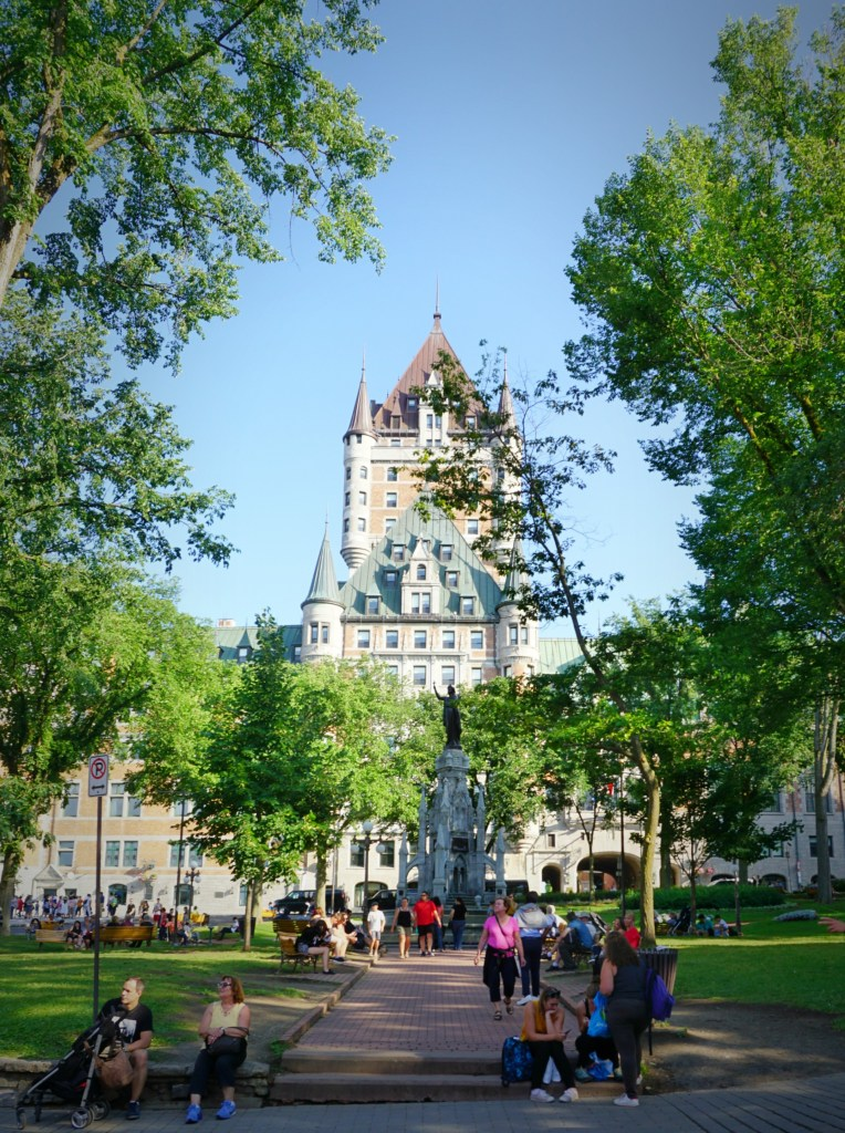 The Family Fairytale that is Quebec City - Chateau Frontenac