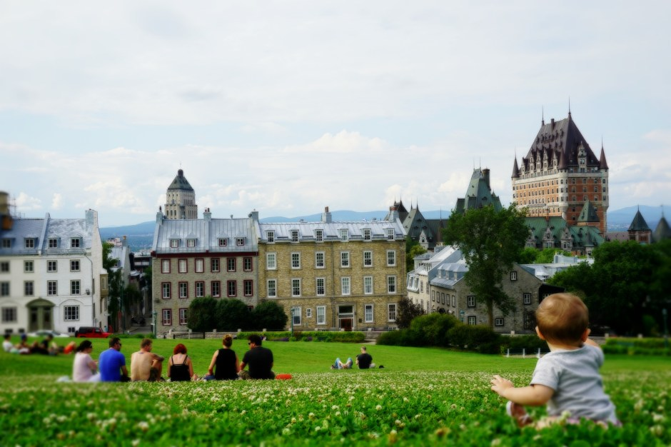The Family Fairytale that is Quebec City - On a hill