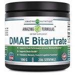 Amazing Nutrition DMAE Bitartrate Dietary Supplement- 100 grams,*Supports Peak Performance & Faster Workout Recovery.