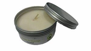 Bougie de massage COCONUT 100% végétale, sans parabène,longue durée