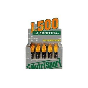 Nutrisport L-Carnitine 1500mg 10 x 25ml Orange