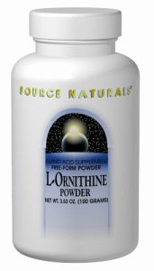 L-ornithine – 667 mg – 100 capsules – booster d'hormones