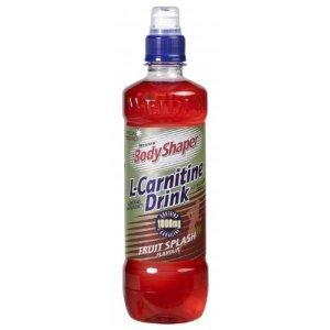 Weider -L-Carnitine Drink – Poids : 24X 500Ml – Goût : Fruits Rouges