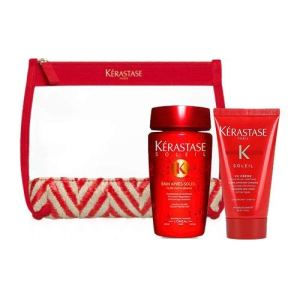 Kerastase New Kit soleil Bain après soleil 80ml + CC Cream 50ml + Pochette