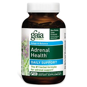 Gaia Herbs, Adrenal Health with Holy Basil and Rhodiola, 120 Liquid-Filled Capsules