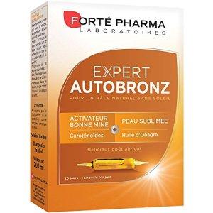 Forté Pharma Expert Autobronzant 20 Ampoules de 10 ml