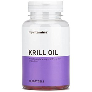 Krill Oil (180 Softgels) – Myvitamins