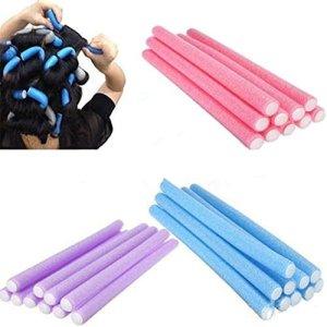 J*myi J*myi 1 * couleur aléatoire Fer à boucler magique/Fer à boucler magique multi-fonctions en coton perlé