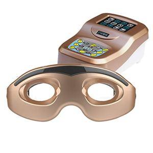Massage oculaire Instrument de Massage oculaire Protecteur oculaire Chaud Visible Massage oculaire sans Fil Soulagement de la Fatigue oculaire Yeux Qui Se baignent Traitements Chaud-Froid
