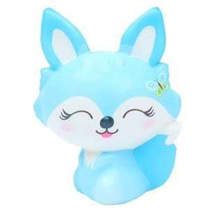 Jouet de soulagement du stress, 1 pièce exquis charmant parfum renard à remonter lentement jouet de décompression