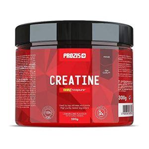 PROZIS Creapure Créatine Monohydrate en Poudre Goût de Citron Vert 300 g 57 Dosage