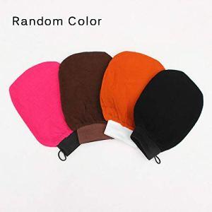 YChoice365 Hammam marocain Bain Gommage Exfoliant Body Glove Gant de Massage du Visage Tan Exfoliant Gant Couleur aléatoire