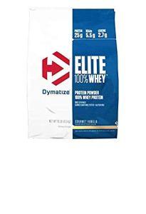 Elite Whey (4,5 kg) Dymatize Parfum fruits rouges