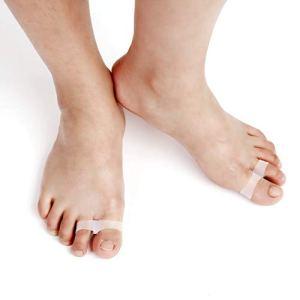 EdBerk74 1 Paire Aimant Perdre Du Poids Nouvelle Technologie Saine Slim Perte Toe Anneau autocollant Silicone Massage Des Pieds Perte Du Poids Réduire