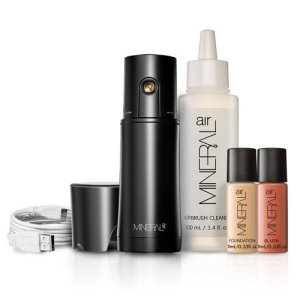 Mineral Air Complexion and Blush Kit | Flawless Mineral Foundation & Blush Application – Medium