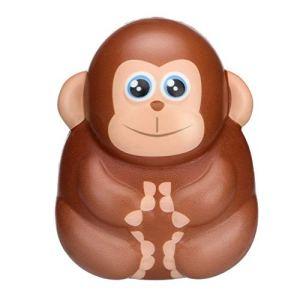 Adulte Enfant Squishies jouet Kawaii Adorable Singe jouet, mode lent Rising Crème parfumée soulager le stress Jouets