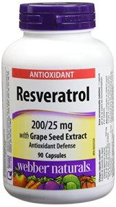 Webber Naturals® Resveratrol with Grape Seed Extract 200/25 mg 90Caplets