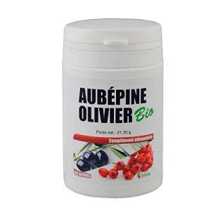 Aubépine Olivier Bio – Gélules végétales de 280 mg – 60 gélules