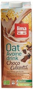 Lima Bio Boisson à Base d'Avoine Chocolat Calcium 1 L