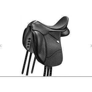 BATES Isabell Cair, glatt, schwarz, 16.5″/42 cm