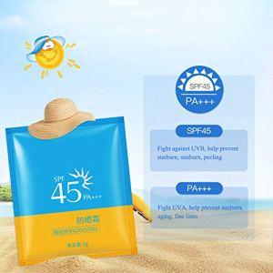 Huile de contrôle hydratante Yiitay Non grasse Isolation rafraîchissante Crème solaire imperméable de longue durée