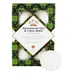 Nubian Heritage Abyssinian Oil and Chia Seed Bath Bombs for Unisex 6 x 1.6 oz Bath Bomb