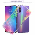 Suhctup Coque Compatible pour Xiaomi Redmi Note 8 Plus,Transparent en Silicone TPU Souple Etui,Ultra Fin Anti Choc Housse Couverture Bumper Housse de Protection pour Redmi Note 8 Plus,Noir