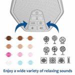 LectroFan Evo ASM1020-WW Machine à Bruit Blanc avec 22 Ventilateurs Uniques et Non Bouclés, Sons Blancs et Minuterie de Sommeil – Modèle International avec Prises UK, EU & US (Blanc)