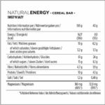 Powerbar Barres Natural Energy Cereal Goût Sweet'n Salty Seeds & Pretzels 24 Barres