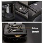 Professional Barber Travel Organisateur Boîte À Outils Multifonction Portable Pour Coiffeur, Noir