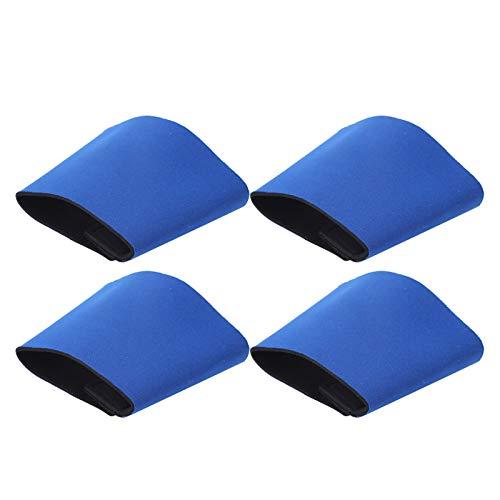 Laver avec une bouteille d'eau chaude Housse de protection Protection de l'environnement Couvre-bouteille de ligne de couture lisse, pour remplacer le couvercle de tasse en papier(blue)