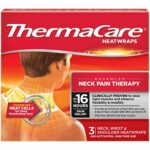 ThermaCare Air-Activated Heatwraps, Neck, Wrist & Shoulder, 3 HeatWraps (Pack of 3) by Thermacare