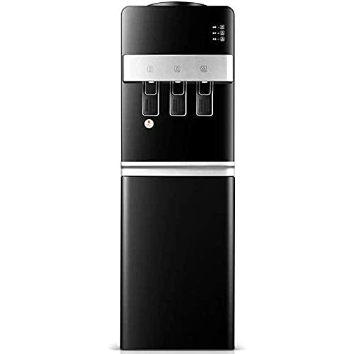 KDMB Fontaine à Boire Verticale Chaude, Refroidisseur d'eau Distributeur d'eau – 3 réglages de température – Eau Chaude, Froide et Froide