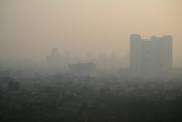 new delhi pollution air