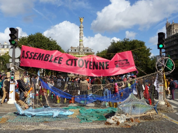 extinction rebellion chatelet