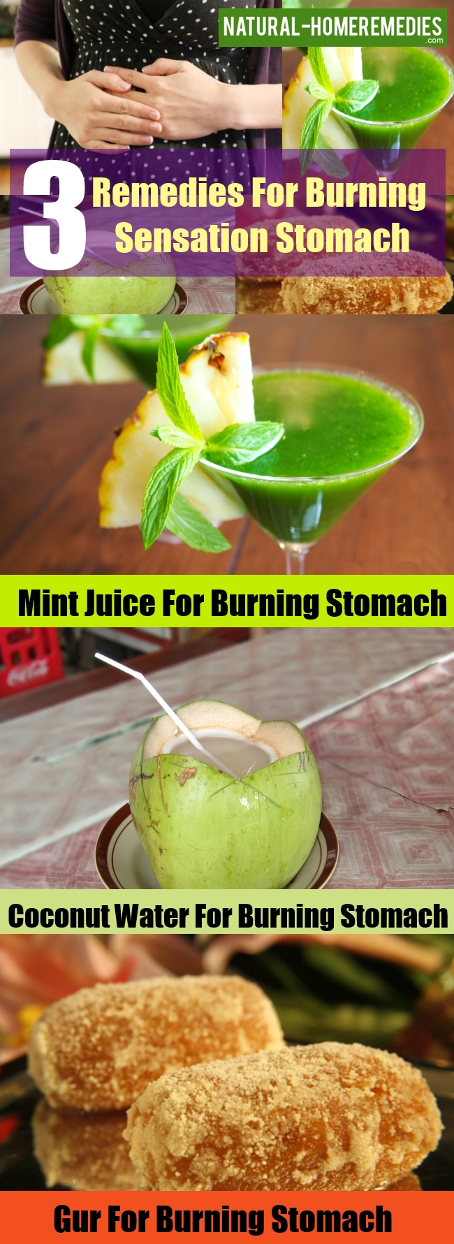 Get Rid Of That Burning Sensation In Your Stomach