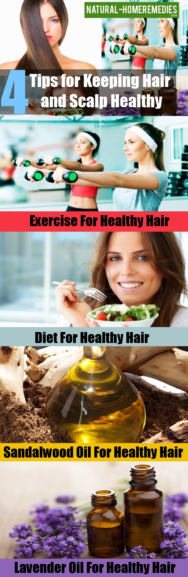 Tips for Keeping Hair and Scalp Healthy