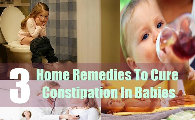 3 Home Remedies To Cure Constipation In Babies